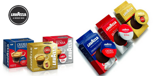 Lavazza A Modo Mio Great Classic Coffee Capsules
