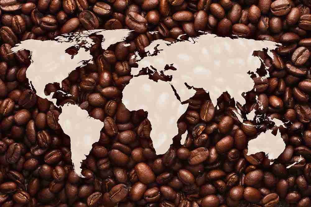 coffee beans worldwide